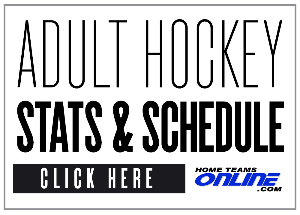Adult Hockey Stats, Standings & Schedule